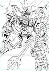 Voltron Coloring Pages - Auromas.com