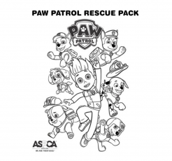 PAW Patrol Coloring Page Rescue Pack