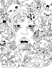 50 Trippy Coloring Pages - Coloring Home