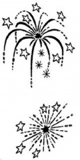 Firework Coloring Pages Free - Coloring Page