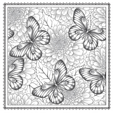 Amazon.com: Blossom Magic: Beautiful Floral Patterns Coloring Book ...