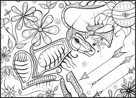 Colouring It Forward – Native Canadian Art – Coloring Books