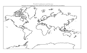 Coloring Pages Of The Continents And Oceans - High Quality ...