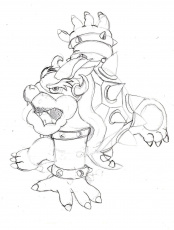 Bowser And Bowser Jr Bowser Drawings kngbowser Recipes To