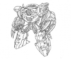 The best free Grimlock coloring page images. Download from ...