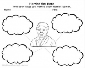 Harriet Tubman Coloring Page | Free Printable Coloring Pages ...