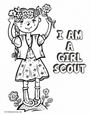 1000+ images about Girl Scout coloring pages on Pinterest ...