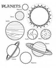 Related Solar System Coloring Pages item-13935, Solar System ...