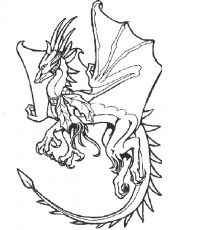 Dragon #148357 (Characters) – Printable coloring pages
