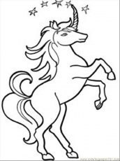Coloring Pages Unicorn 12 Med (Cartoons > Unicorn) - free