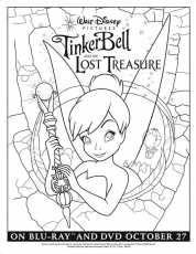 Tinker Bell And The Lost Treasure Coloring Page Id 41559 268341