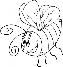 bumble bees coloring pages
