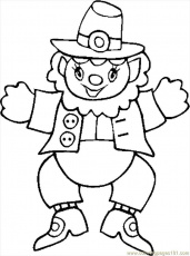 Leppercan Hat Coloring Page