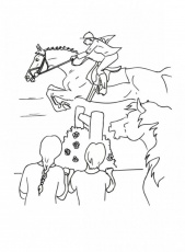 Race Horse Coloring Pages Kids Kids Colouring Pages 234643 Race