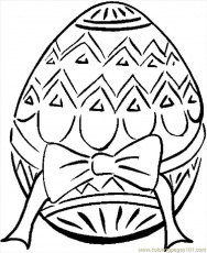 printable coloring page easter egg entertainment holidays