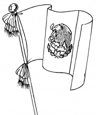 mexican flag coloring pages