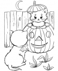 halloween coloring pages: Free Printable Halloween Coloring Pages