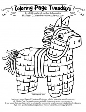 Printable Cinco de Mayo Coloring Pages Roundup