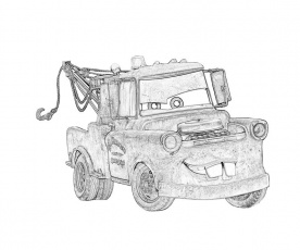 7 Pics of Mater From Cars Coloring Pages - Mater Cars Movie ...