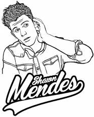 Shawn Mendes coloring page by Topcoloringpages.net #Mendes #ShawnMendes  #ColoringPage #ColoringShee… | Super coloring pages, Mermaid coloring pages,  Coloring pages