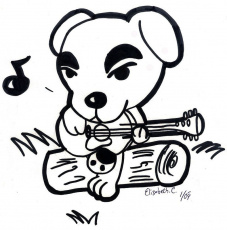 7 animal crossing coloring page animal crossing