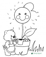 Connect the Dots for Kids - Coloring-Page.net