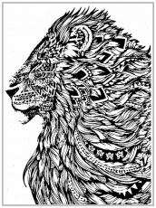 Free Printable Animal Mandala Coloring Pages - Coloring Page