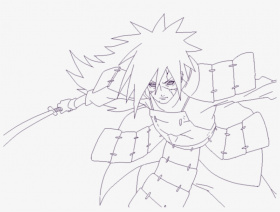 Madara Uchiha Drawing Full Body