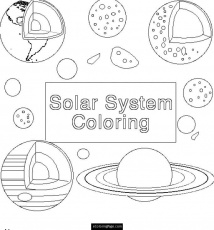 Planets Coloring Pages | eColoringPage.com- Printable Coloring Pages