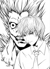 Death Note Coloring Pages at GetDrawings.com | Free for ...