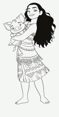 Coloring Pages : Moana Coloring Pages 288137_moana And Pua Fabulous Free  Fabulous Moana Coloring Pages ~ Off-The Wall ATL