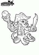 skylanders swap force coloring pages hoot loop az