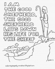 Good Shepherd Coloring Pages Free - Coloring Page