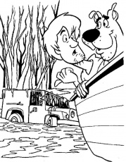 Scooby Doo Coloring Pages To Print Out | Coloring Pages - Part 3