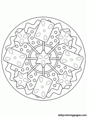 Christmas Decoration Coloring Pages For Adults - Сoloring Pages ...