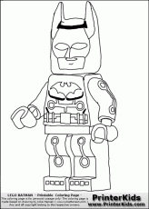 Lego Batman - Electro - Coloring Page Preview