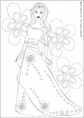 Princess Coloring Pages 2014- Dr. Odd