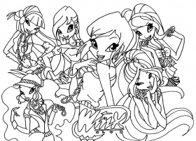 pictures of the winx club