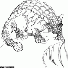 Dinosaur Coloring Pages by YUCKLES!