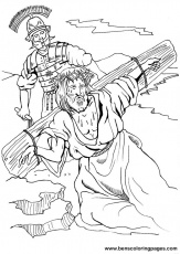 easter coloring page jesus