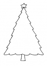 Christmas-tree-coloring-12 | Free Coloring Page Site