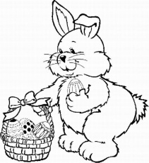Easter Coloring Pages | Kids Cute Coloring Pages