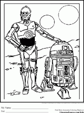 R2d2 Coloring Pages R2d2 Coloring Pages Printable R2d2 C3po 180454