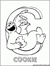 Sesame Street Alphabet Coloring Pages Pin Printable Alphabet
