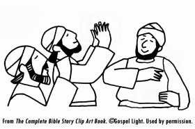 Jehoshaphat and the People Pray | Mission Bible Class