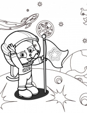 Astronaut Coloring Page Handipoints 97891 Astronaut Coloring Pages