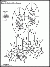 Christmas Coloring By Number