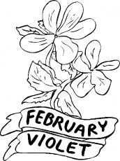 february coloring sheets
