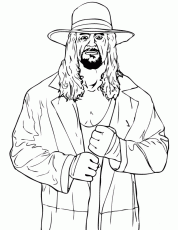 wwe coloring pages dx