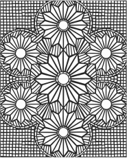 Mosaic Coloring Pages mosaic patterns coloring pages – Kids